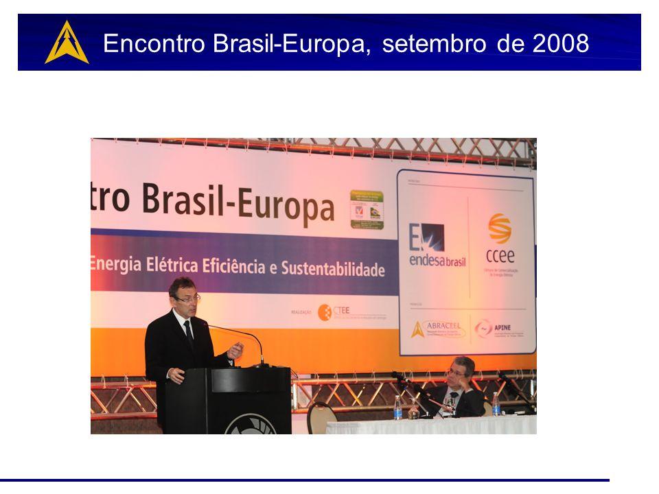 Encontro Brasil-Europa, setembro de 2008