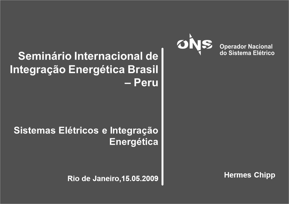 Seminário Internacional de Integração Energética Brasil – Peru