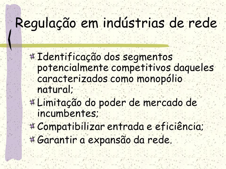 Regulação em indústrias de rede