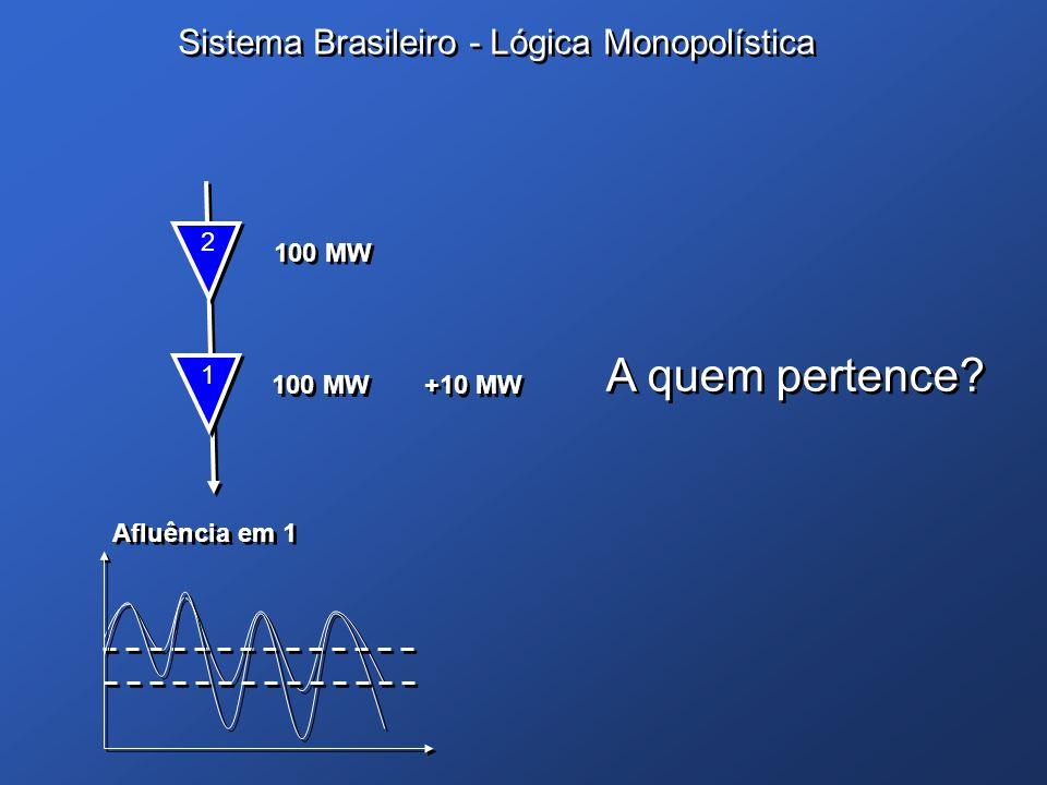 A quem pertence Sistema Brasileiro - Lógica Monopolística 2 100 MW 1