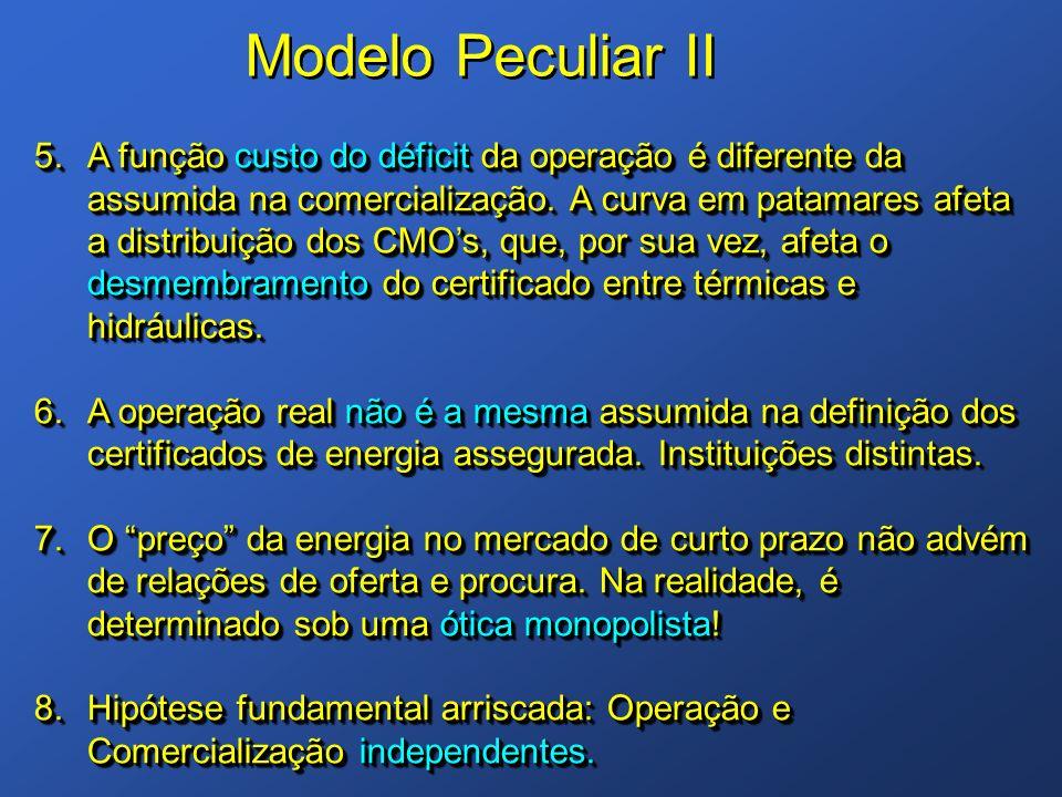 Modelo Peculiar II