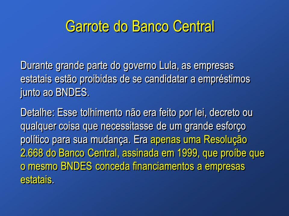 Garrote do Banco Central