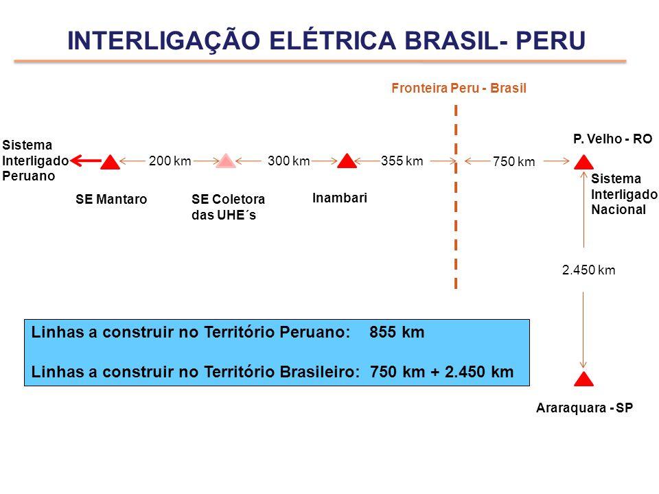 INTERLIGAÇÃO ELÉTRICA BRASIL- PERU