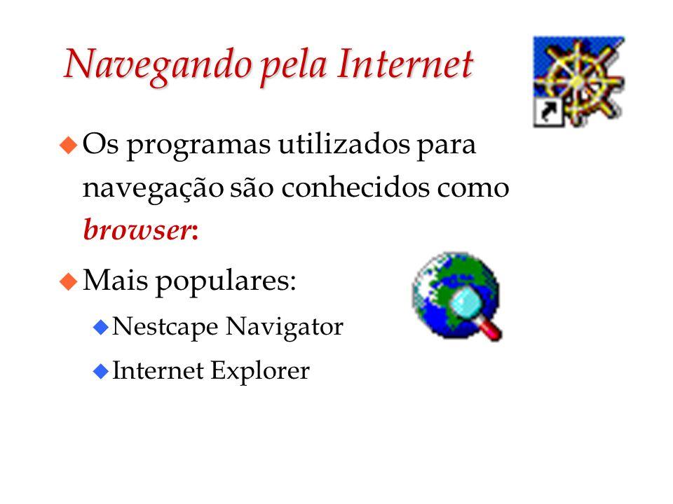 Navegando pela Internet