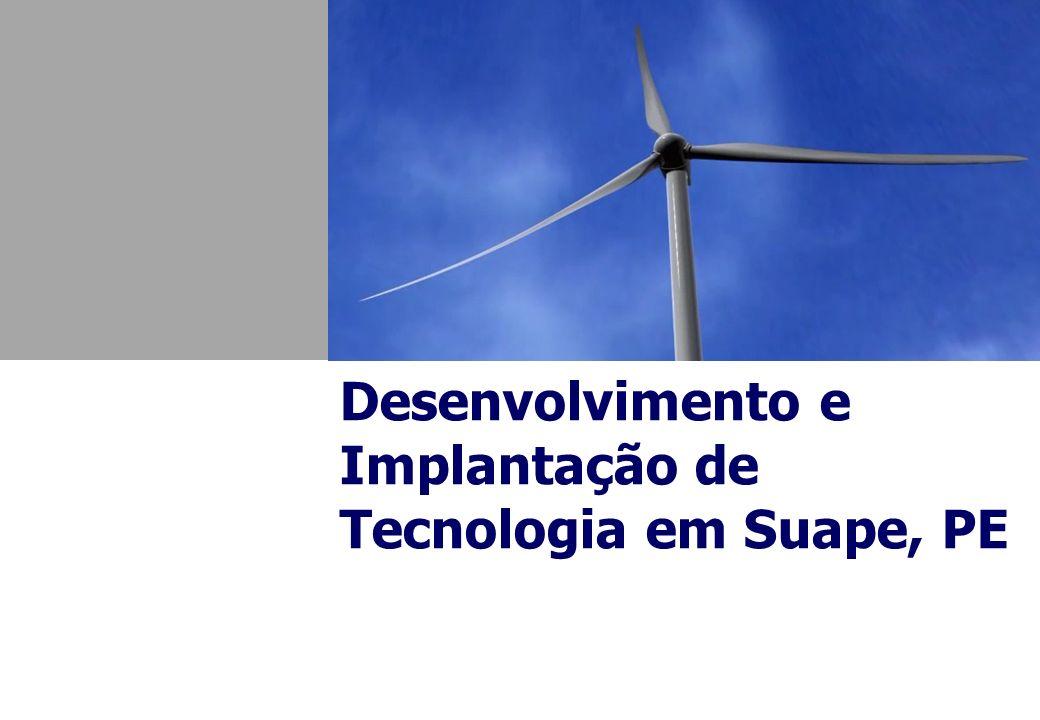 Desenvolvimento e Implantação de Tecnologia em Suape, PE