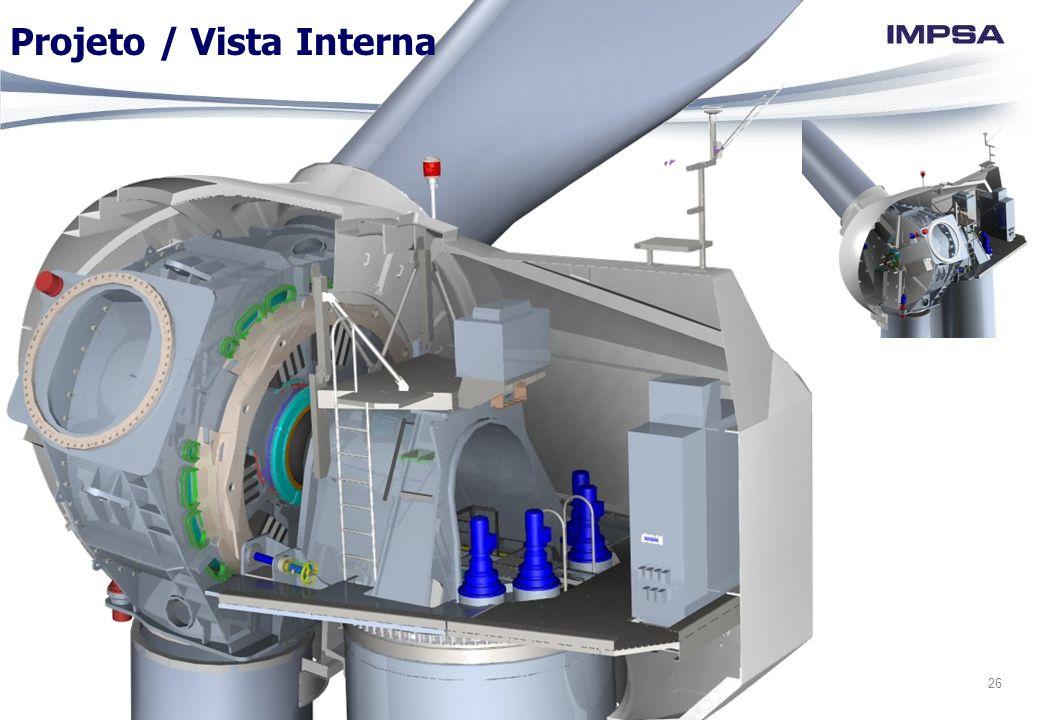 Projeto / Vista Interna