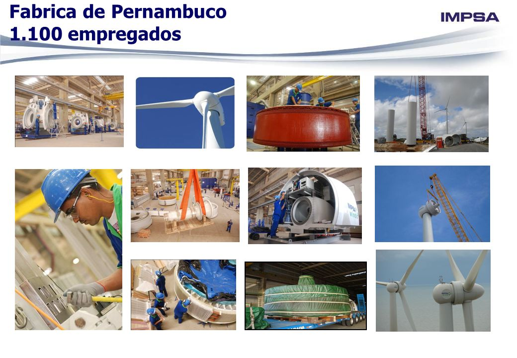 Fabrica de Pernambuco 1.100 empregados