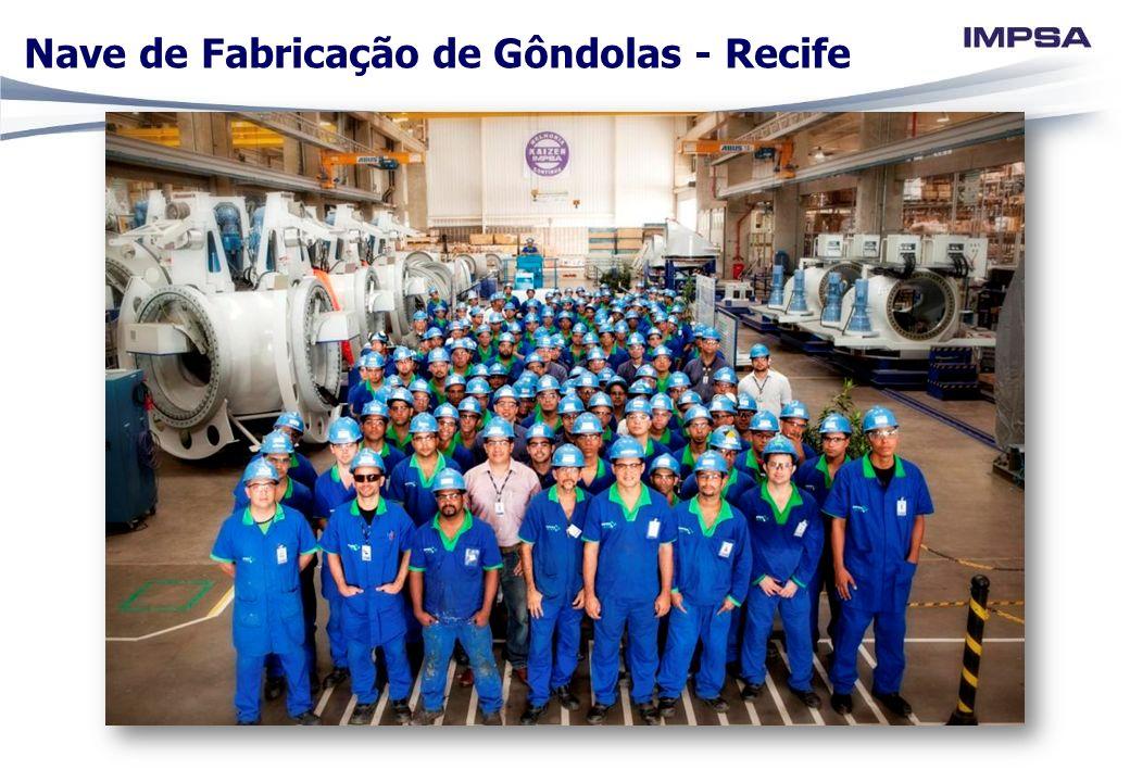 Nave de Fabricação de Gôndolas - Recife