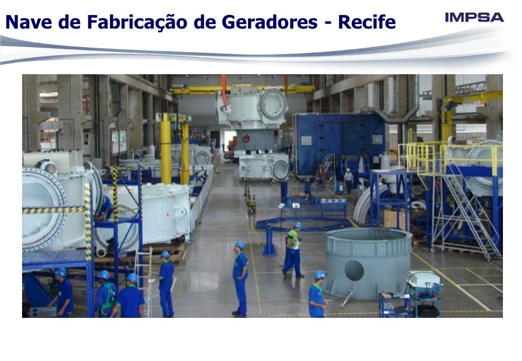 Nave de Fabricação de Geradores - Recife