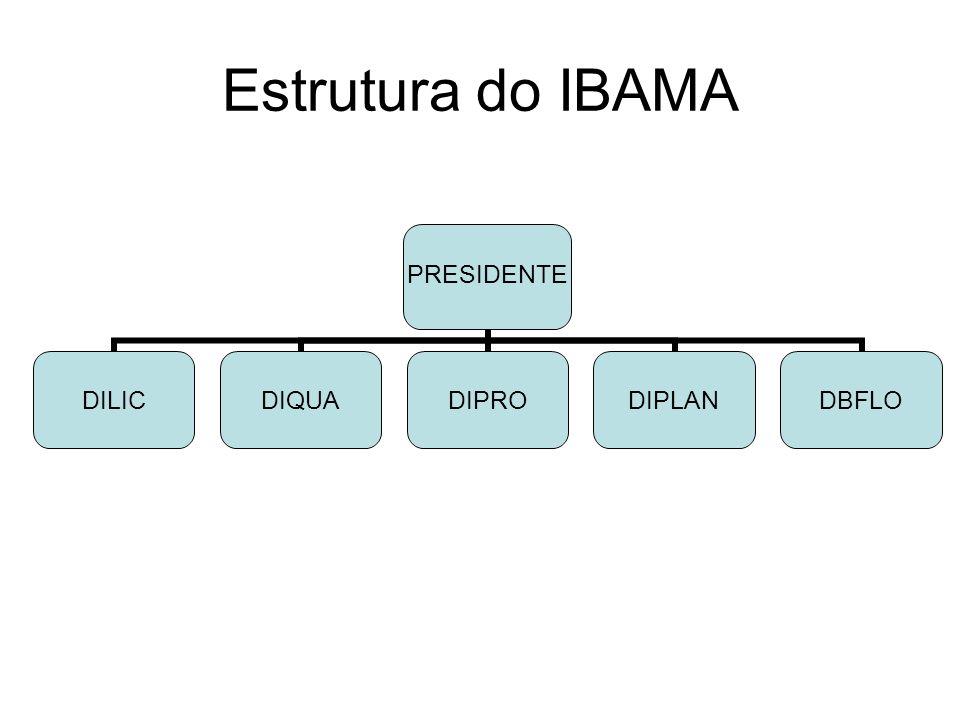 Estrutura do IBAMA