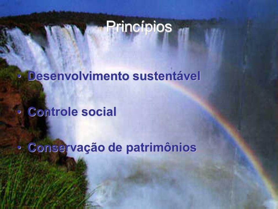 Princípios Desenvolvimento sustentável Controle social