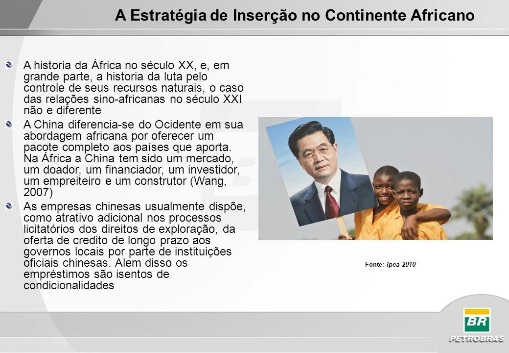 A Estratégia de Inserção no Continente Africano