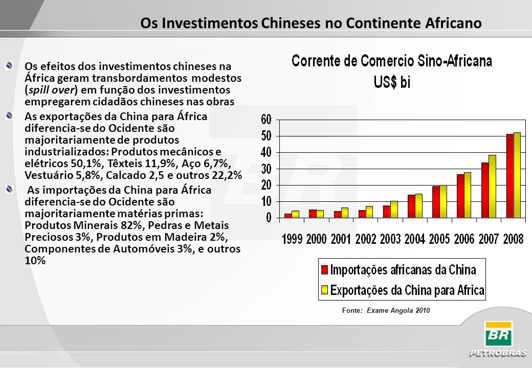 Os Investimentos Chineses no Continente Africano