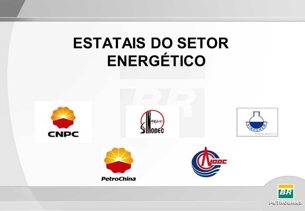 ESTATAIS DO SETOR ENERGÉTICO