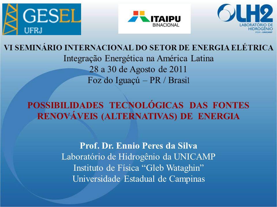 Integração Energética na América Latina 28 a 30 de Agosto de 2011
