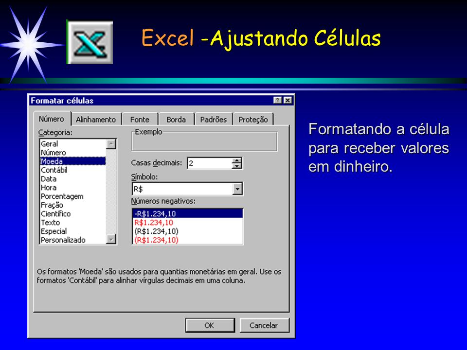 Excel -Ajustando Células