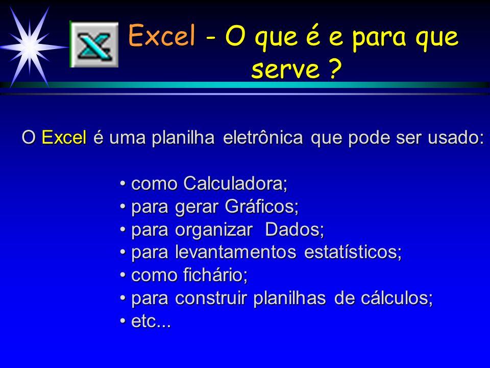 Excel - O que é e para que serve