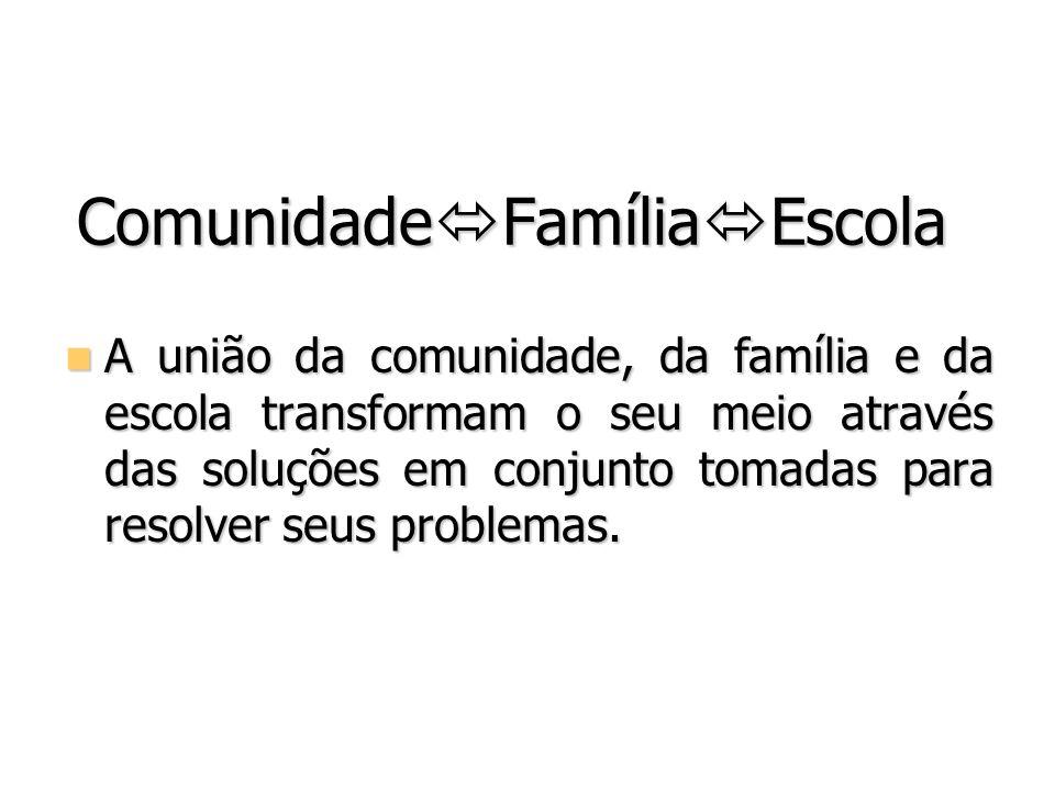 ComunidadeFamíliaEscola