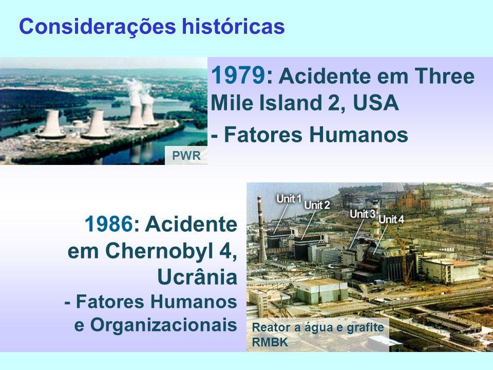 1979: Acidente em Three Mile Island 2, USA