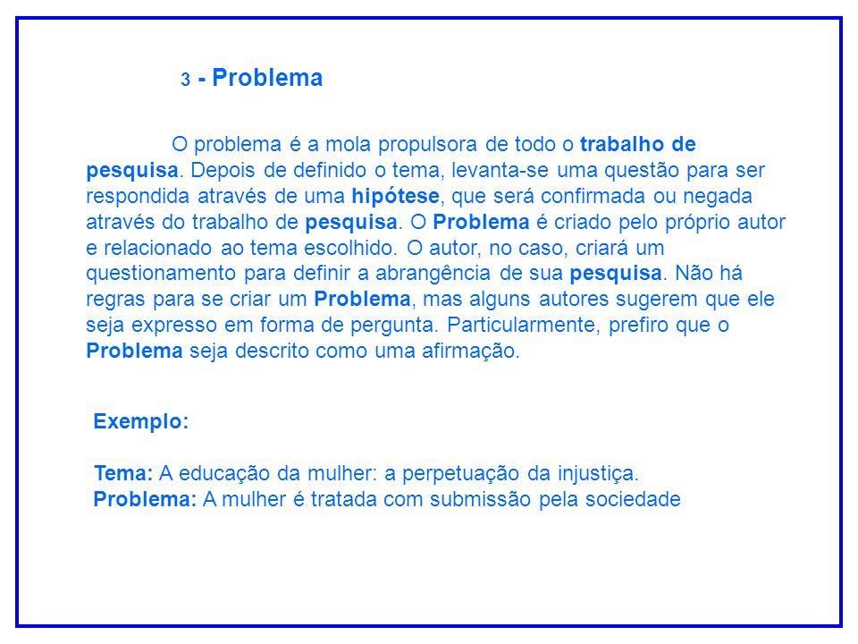 3 - Problema
