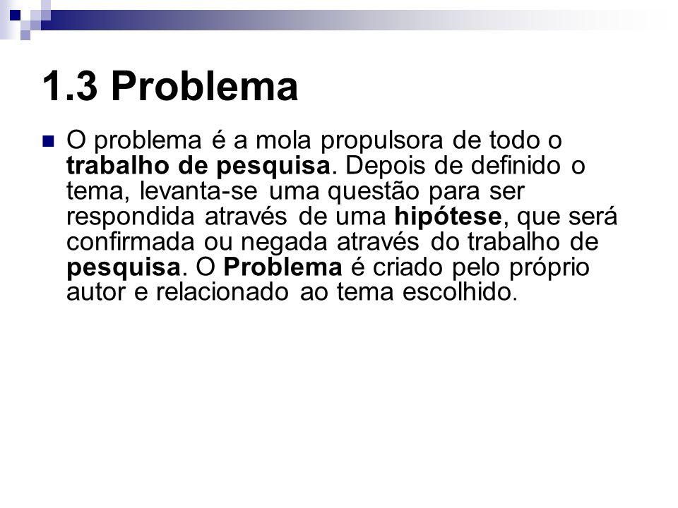 1.3 Problema