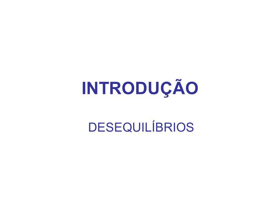 INTRODUÇÃO DESEQUILÍBRIOS