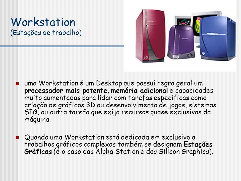 Workstation (Estações de trabalho)