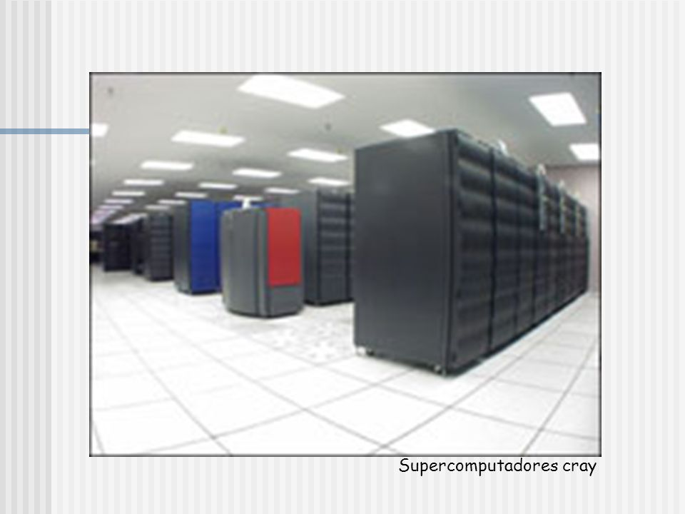 Supercomputadores cray