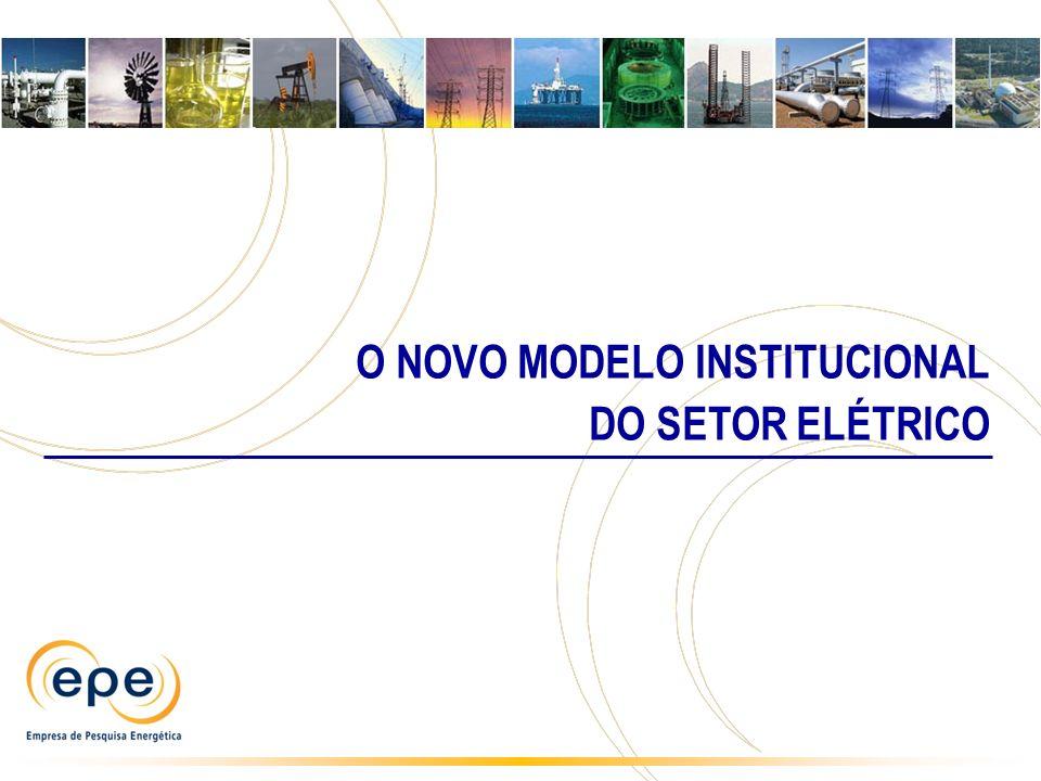 O NOVO MODELO INSTITUCIONAL
