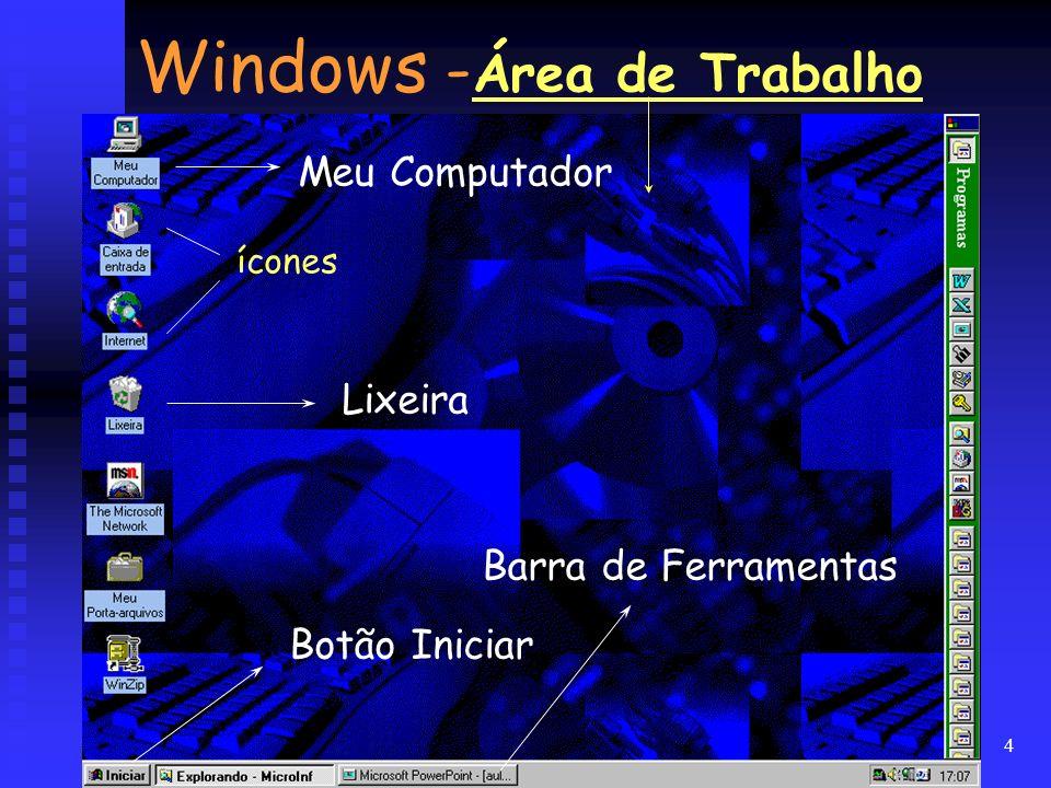 Windows -Área de Trabalho