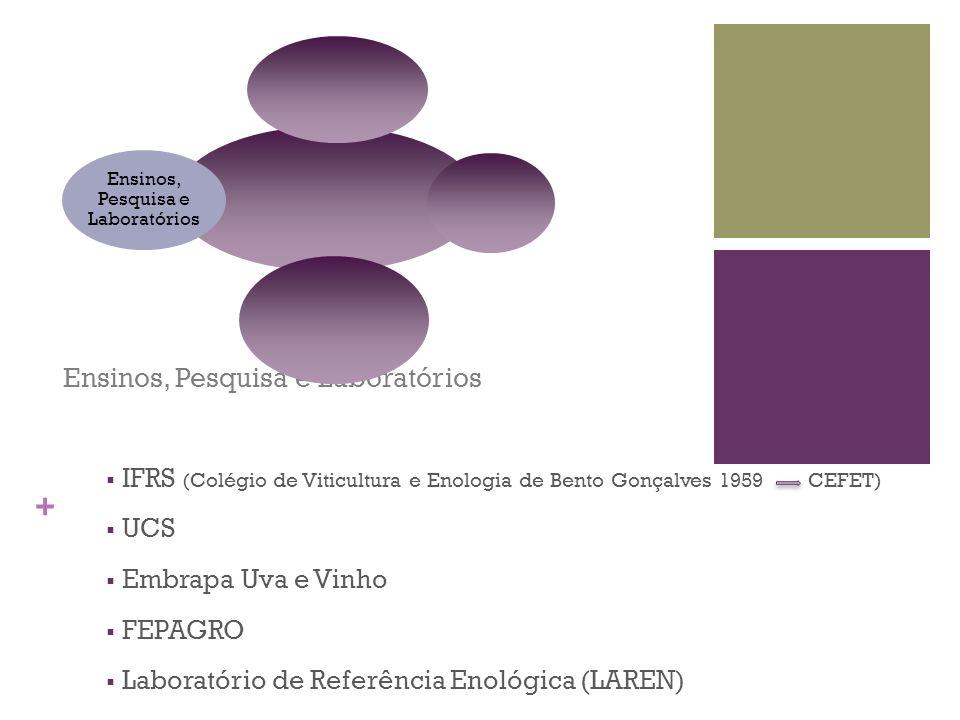 Ensinos, Pesquisa e Laboratórios