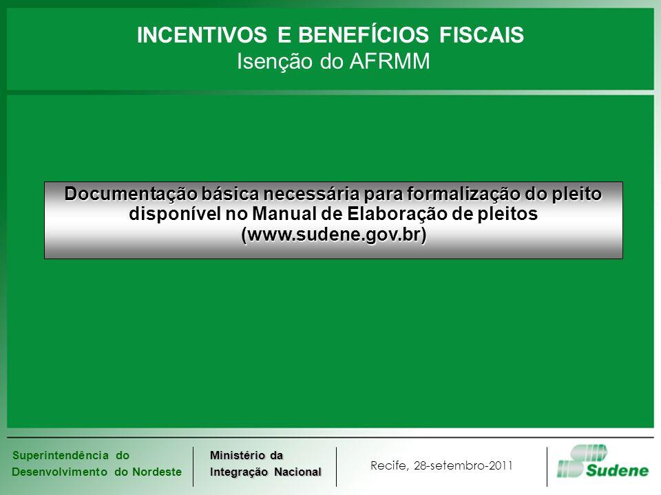 INCENTIVOS E BENEFÍCIOS FISCAIS