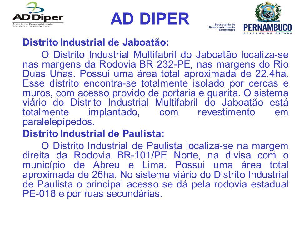 AD DIPER Distrito Industrial de Jaboatão: