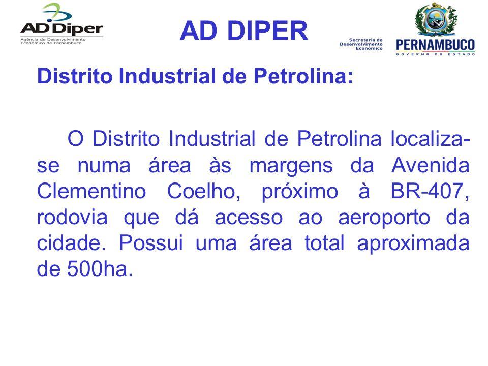 AD DIPER Distrito Industrial de Petrolina:
