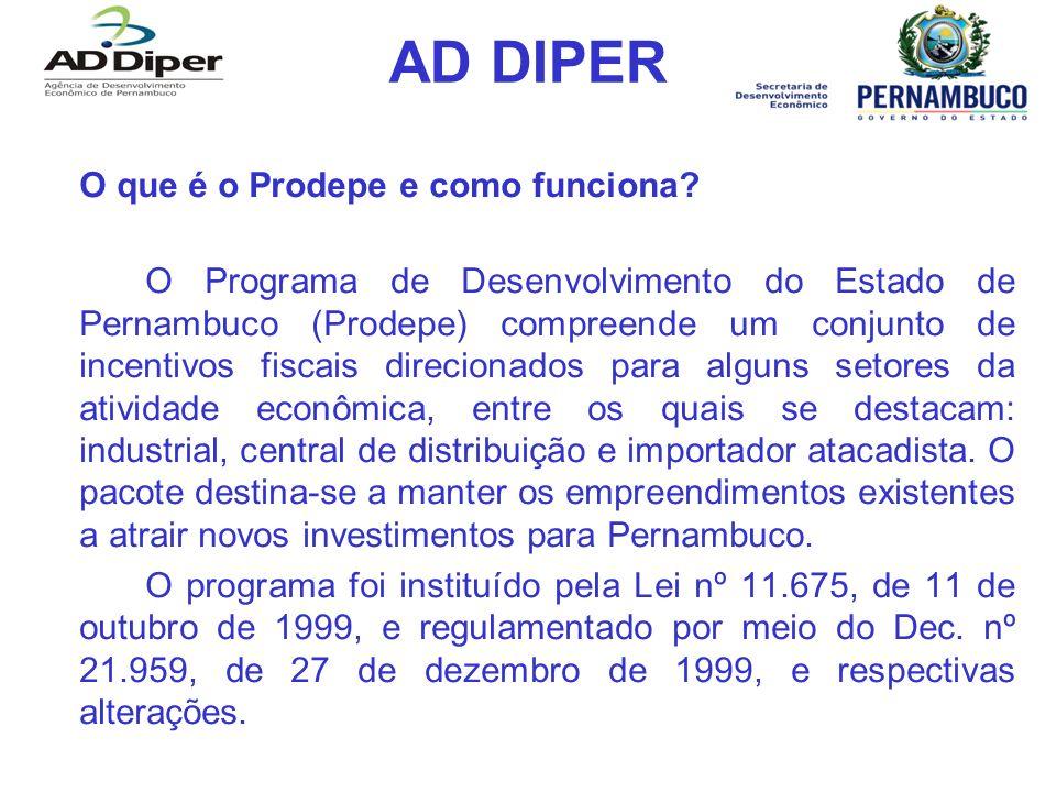 AD DIPER O que é o Prodepe e como funciona
