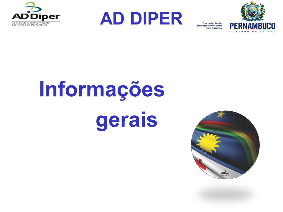 AD DIPER Informações gerais