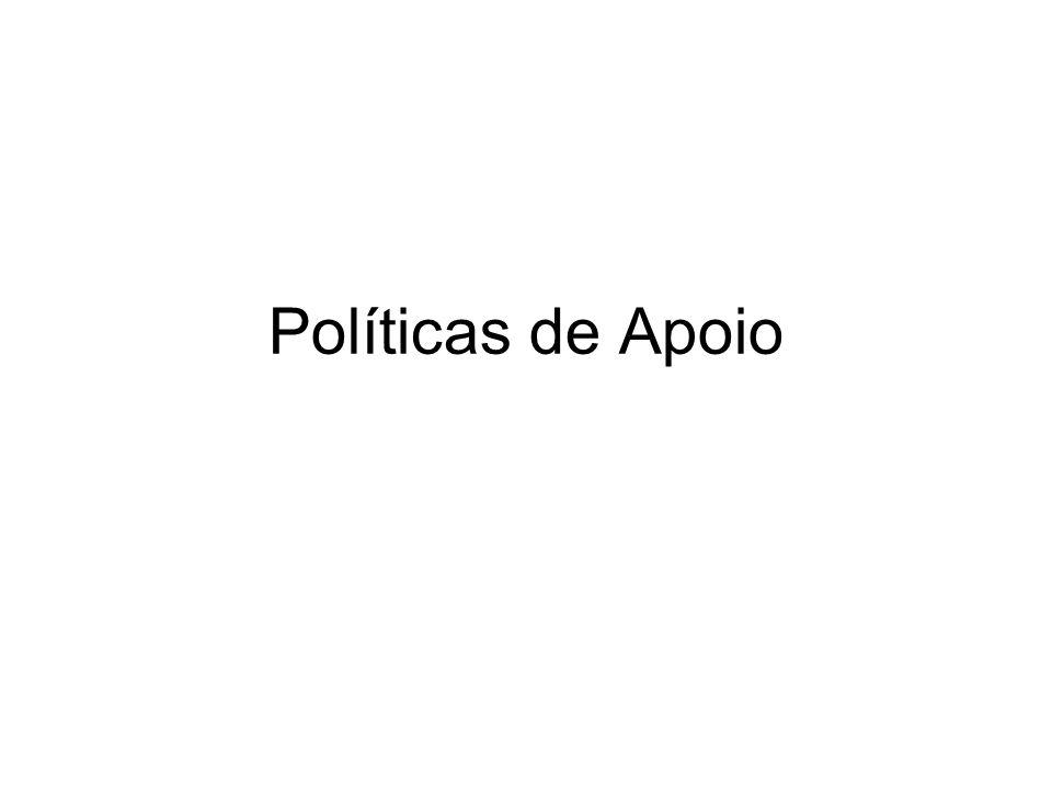 Políticas de Apoio