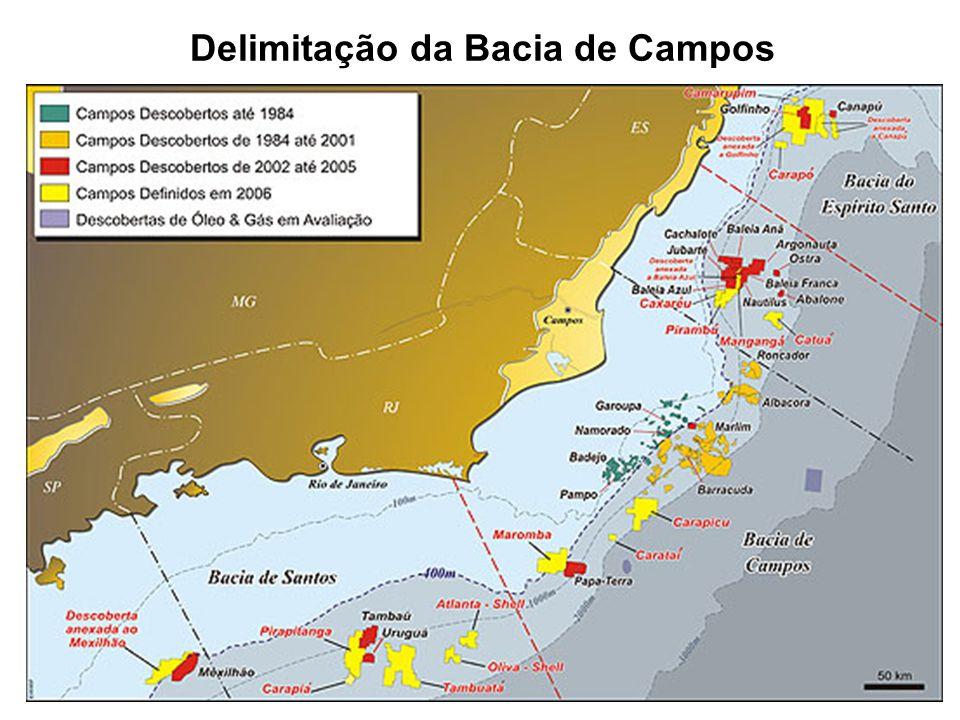 Delimitação da Bacia de Campos