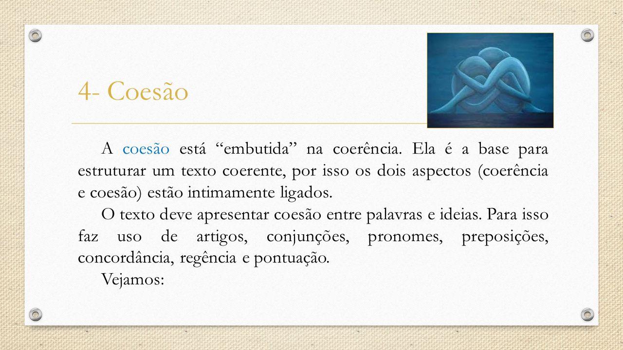 4- Coesão