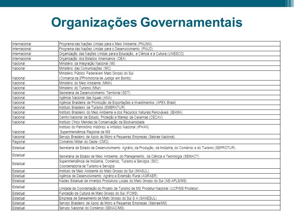 Organizações Governamentais