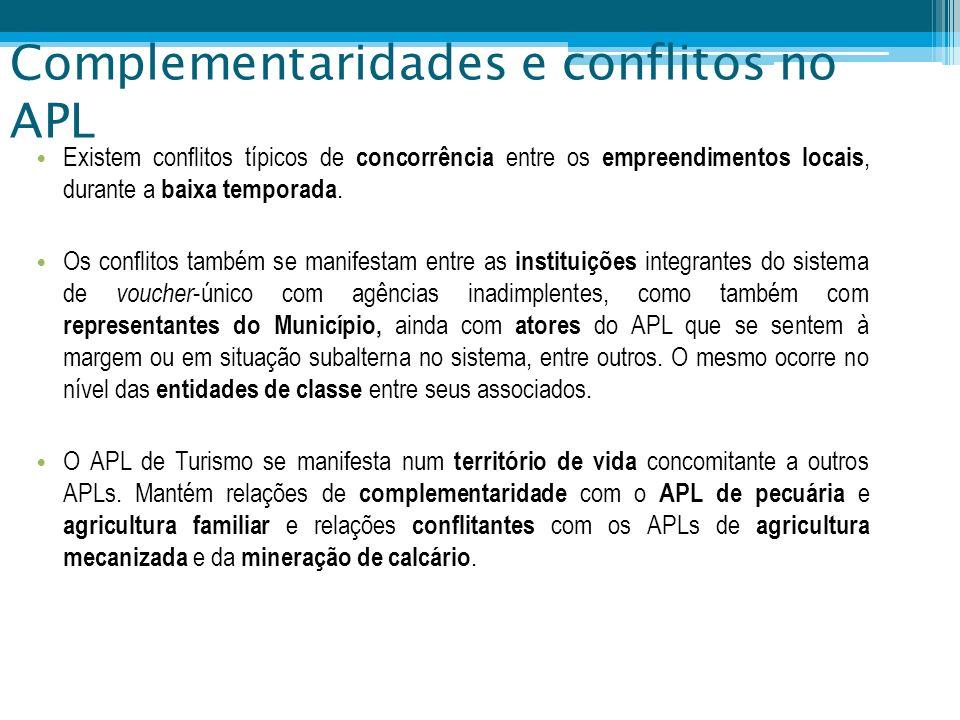 Complementaridades e conflitos no APL