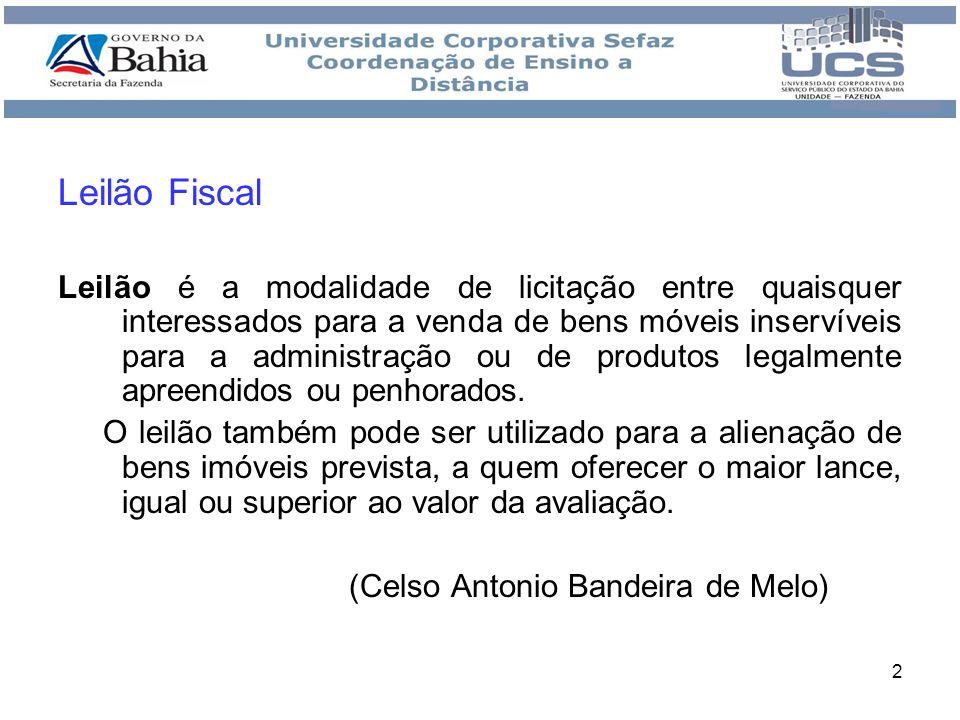 Leilão Fiscal