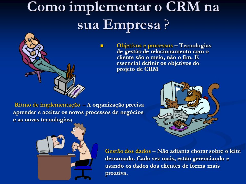 Como implementar o CRM na sua Empresa