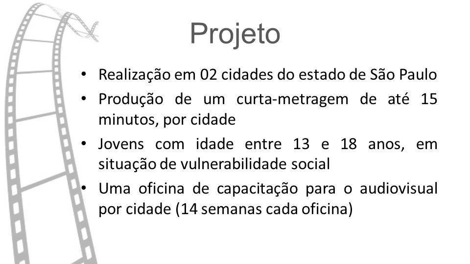 Projeto Realização em 02 cidades do estado de São Paulo