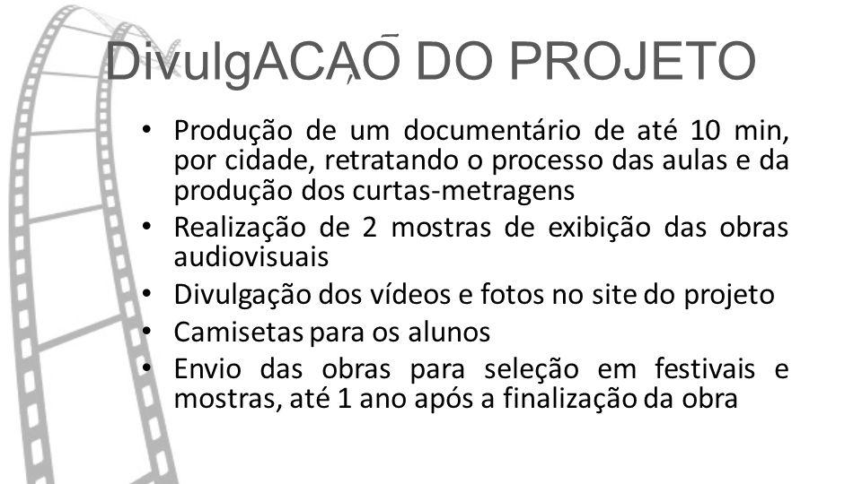 DivulgACAO DO PROJETO - ,