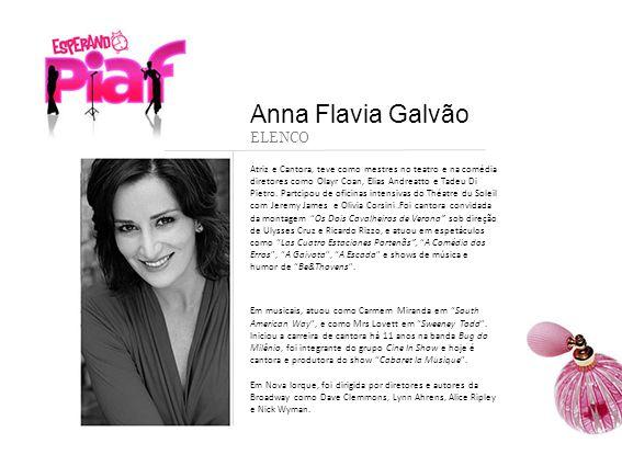 Anna Flavia Galvão ELENCO