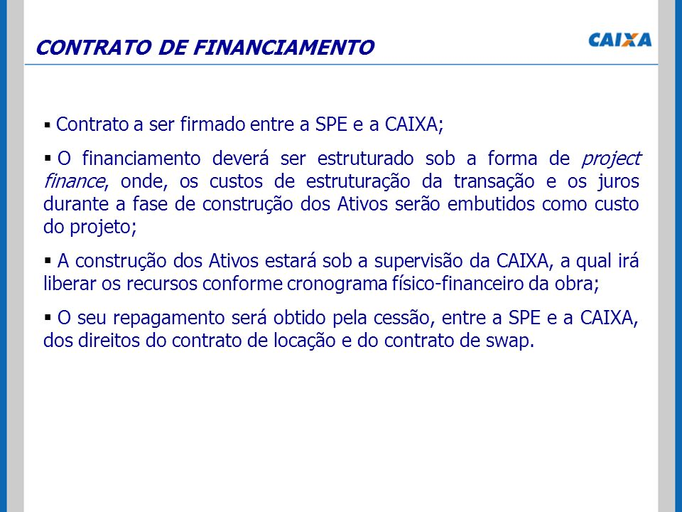 CONTRATO DE FINANCIAMENTO