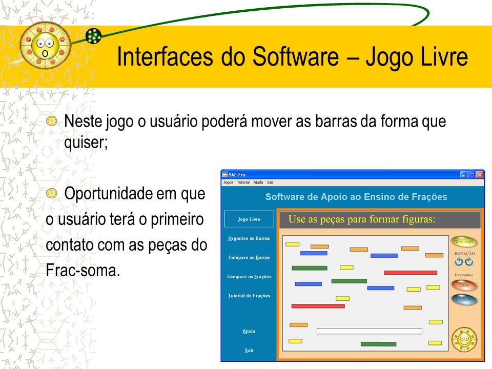 Interfaces do Software – Jogo Livre