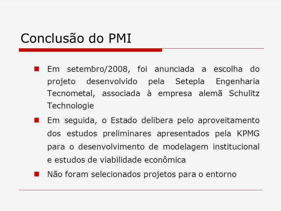 Conclusão do PMI