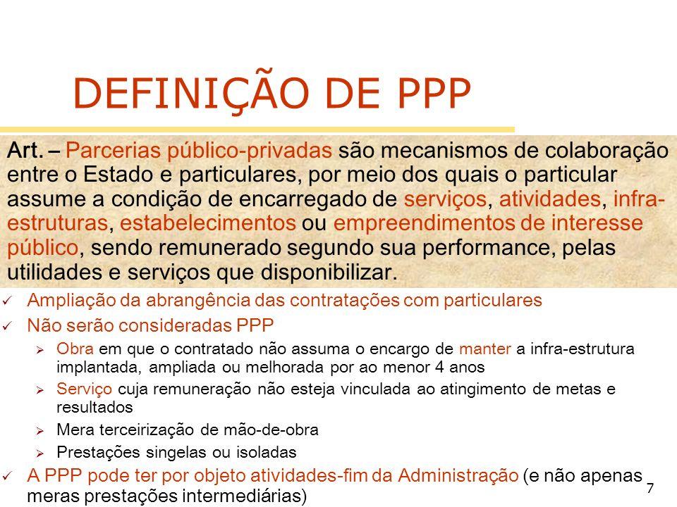 DEFINIÇÃO DE PPP